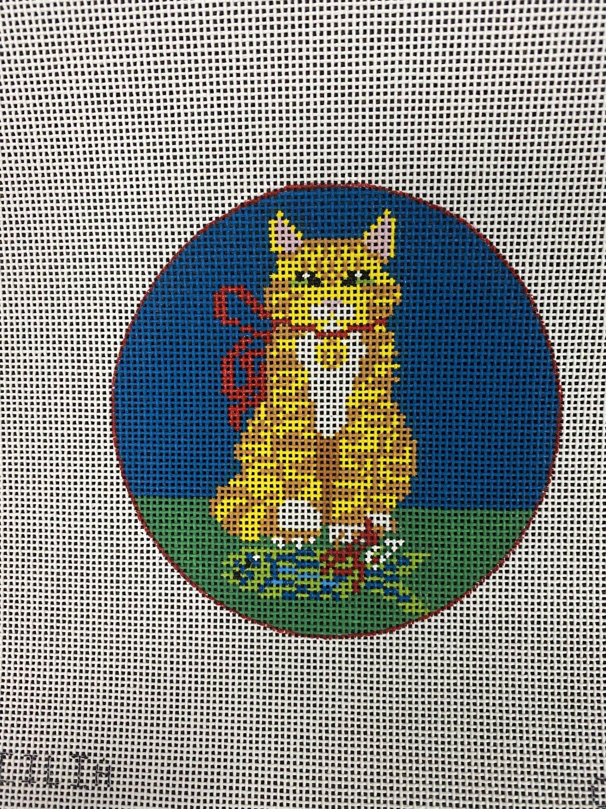 Cat w/ Fish Present, 4R, 18M