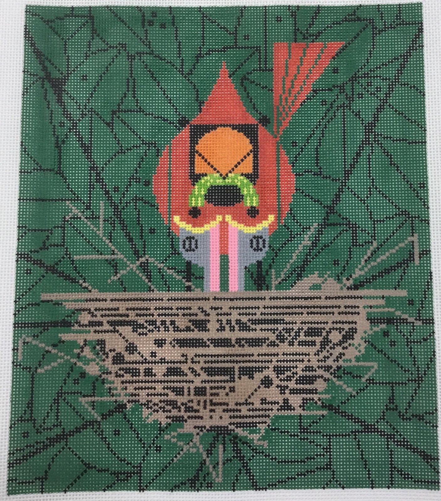 Cardinal Cradle, 13M, 10x12