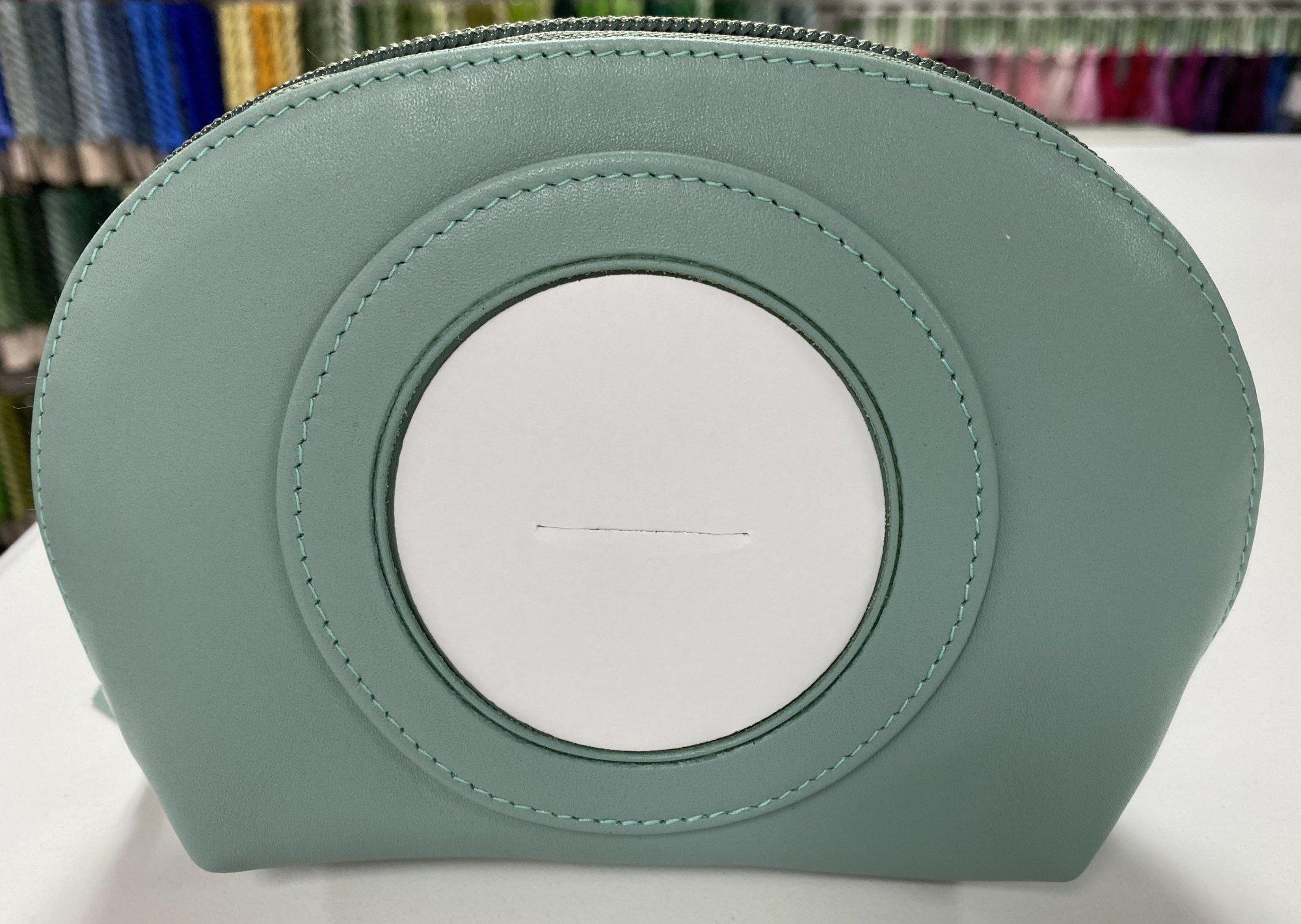 Self Finishing Cosmetic Bag,5.5x7.5,3 opening