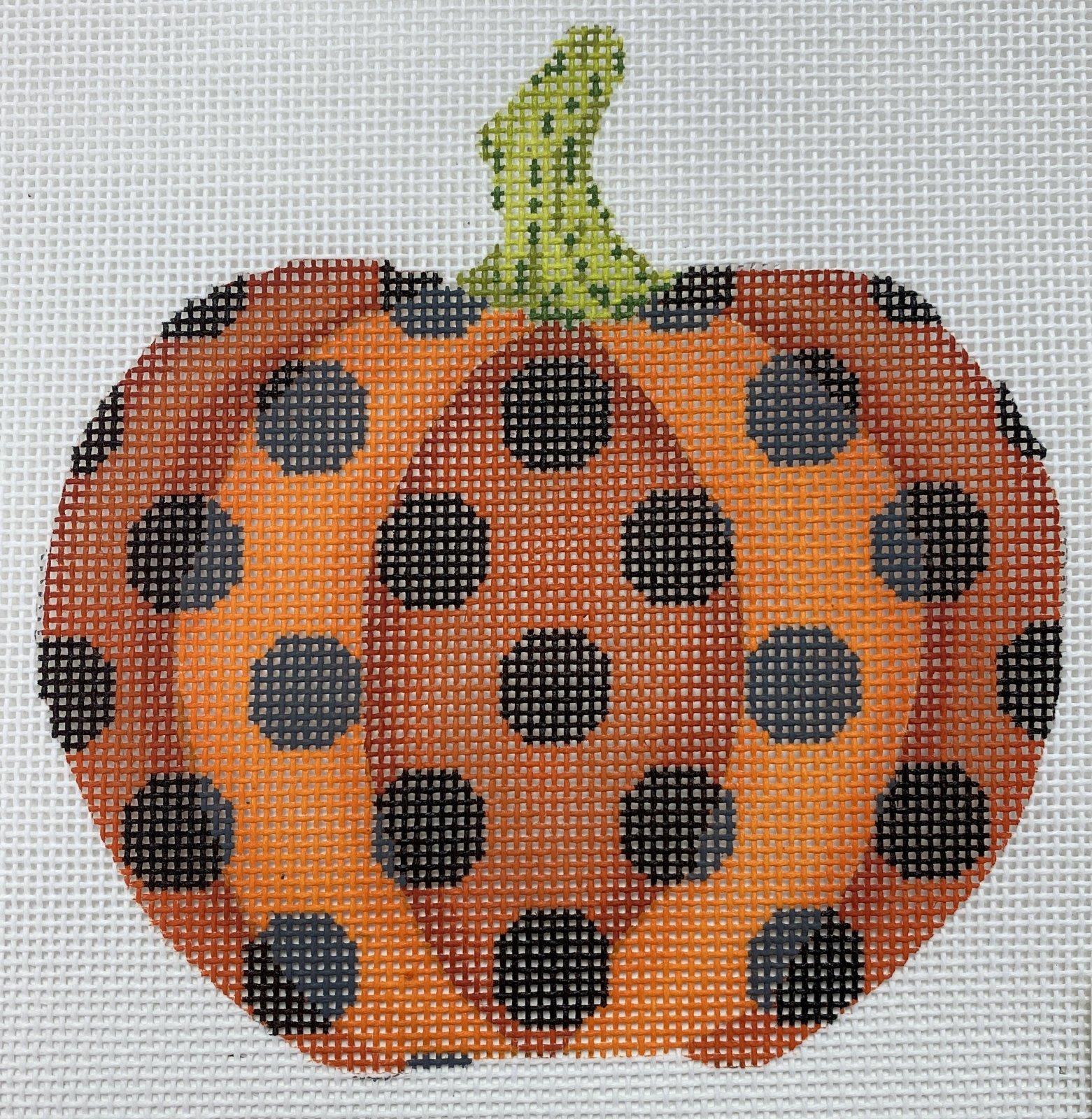 Haunted Polka Dot Pumpkin,18 ct.,4.5'x4.5