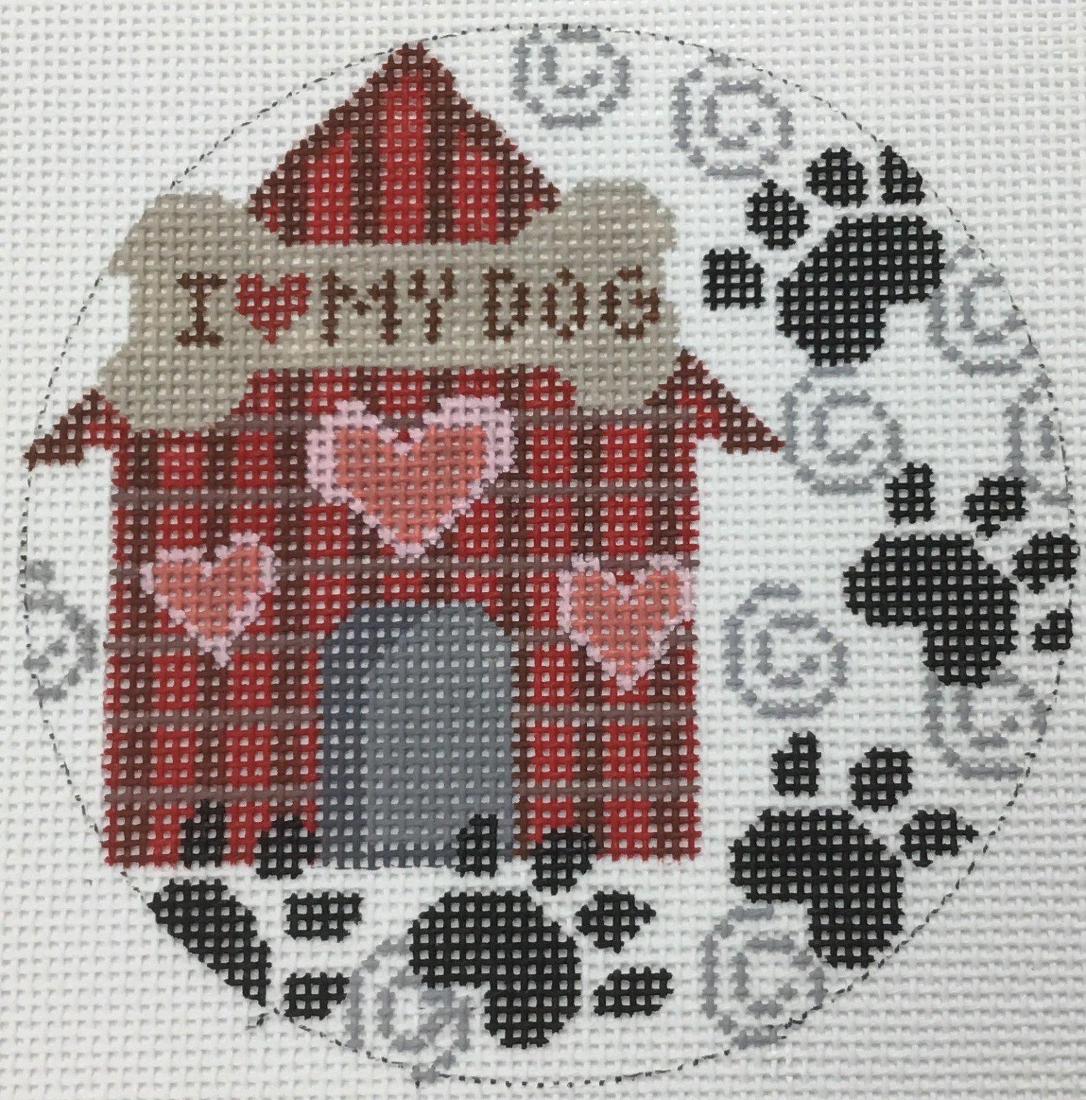 Dog House Ornament,18M, 4