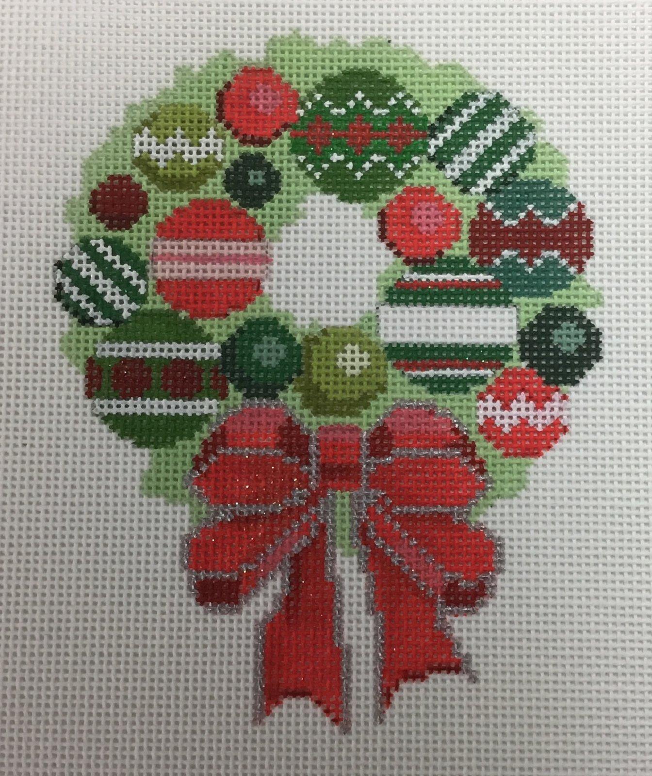 Bauble Wreath,18 ct.,4x5