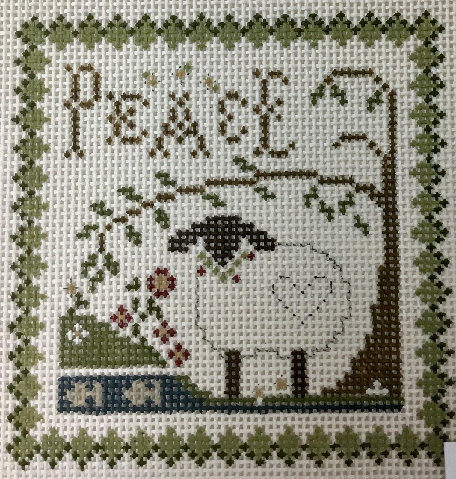 Peace Lamb, 13M, 5x5