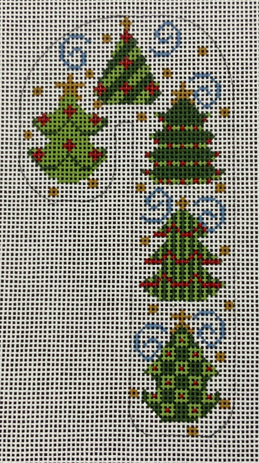 Christmas Trees Candy Cane,18ct.