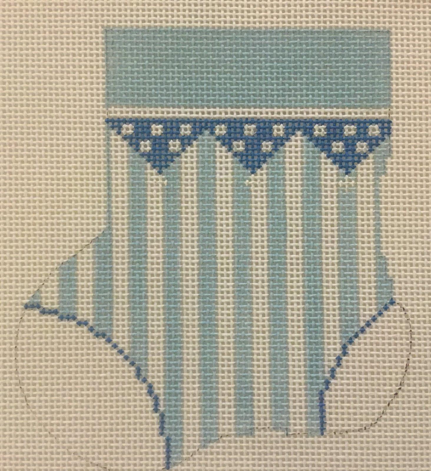Blue Mini Sock, 18M, 4.25x4