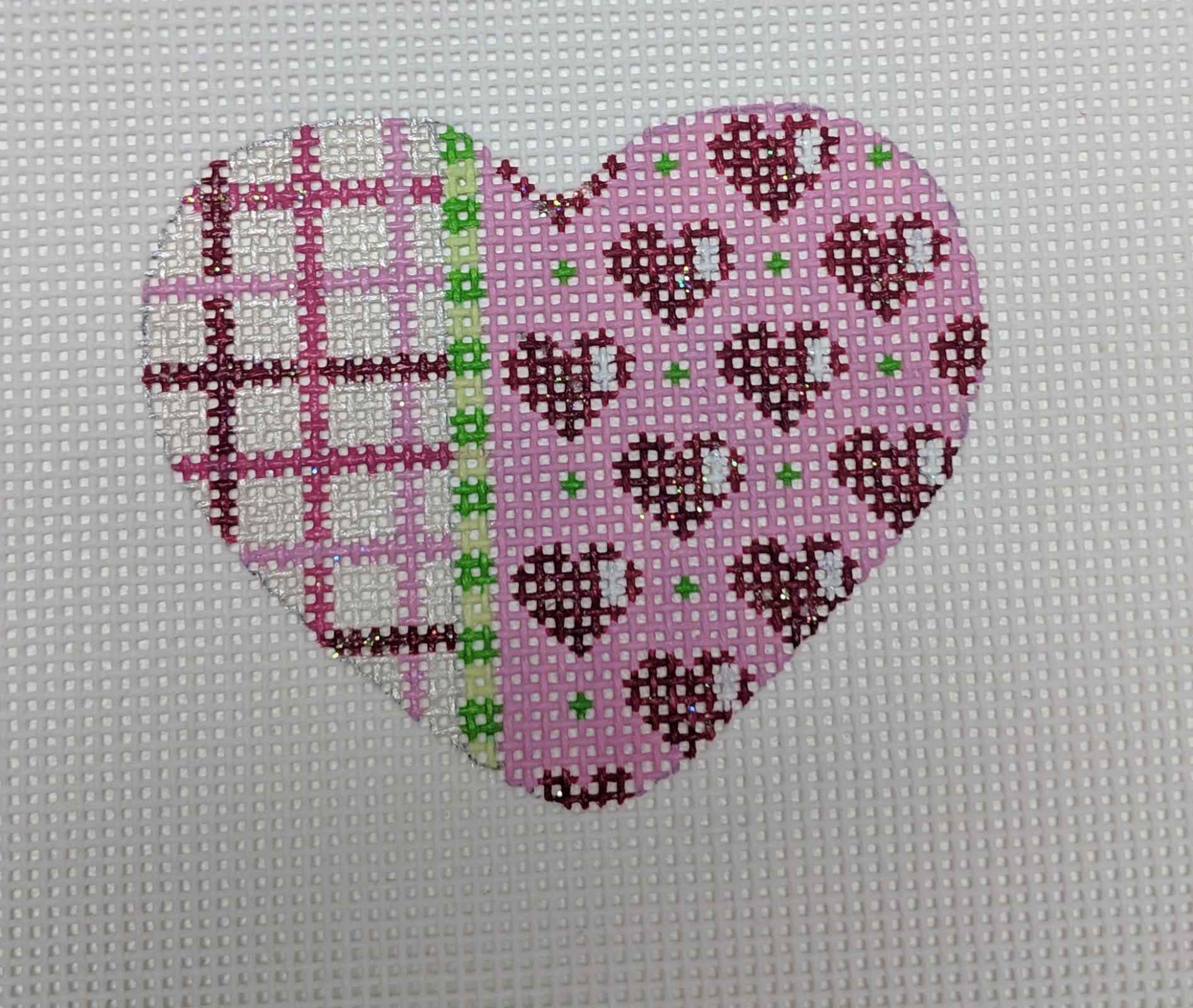 Tattersall/Hearts/Dots Mini Heart, 18M, 2.5x2.5