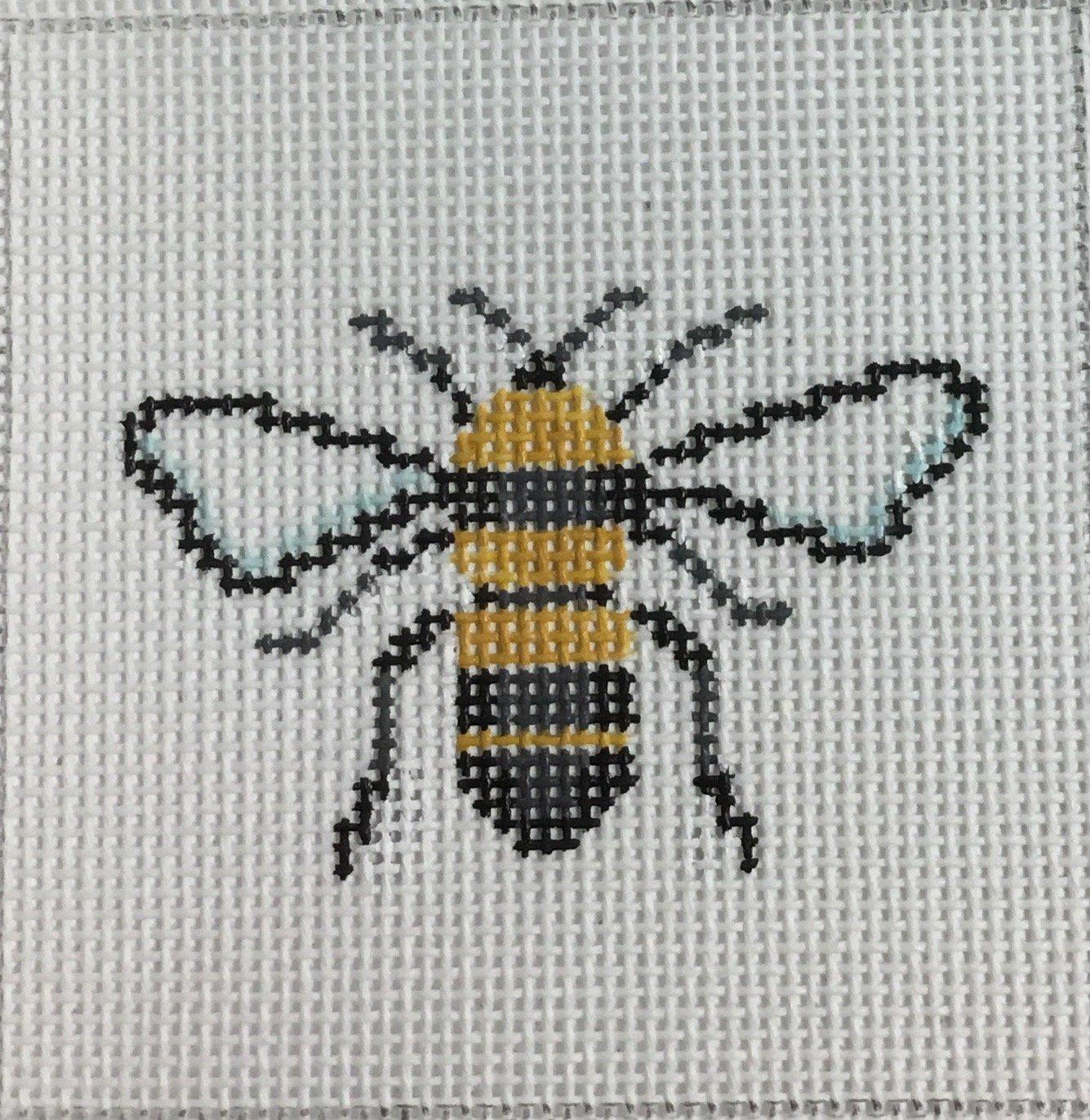 Bee Insert Canvas, 18M, 3x3
