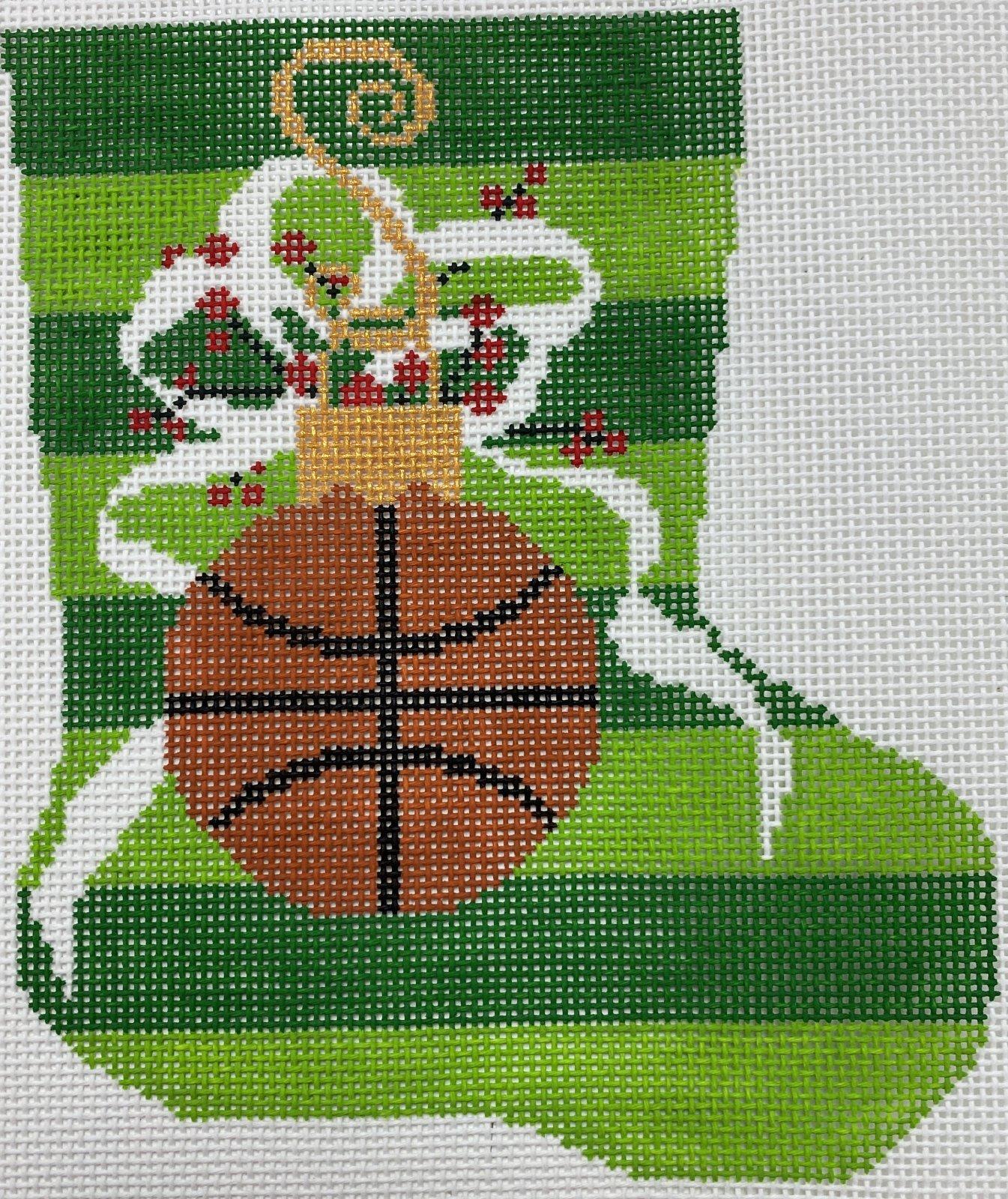 Basketball Mini Stocking,18 ct.,5x6