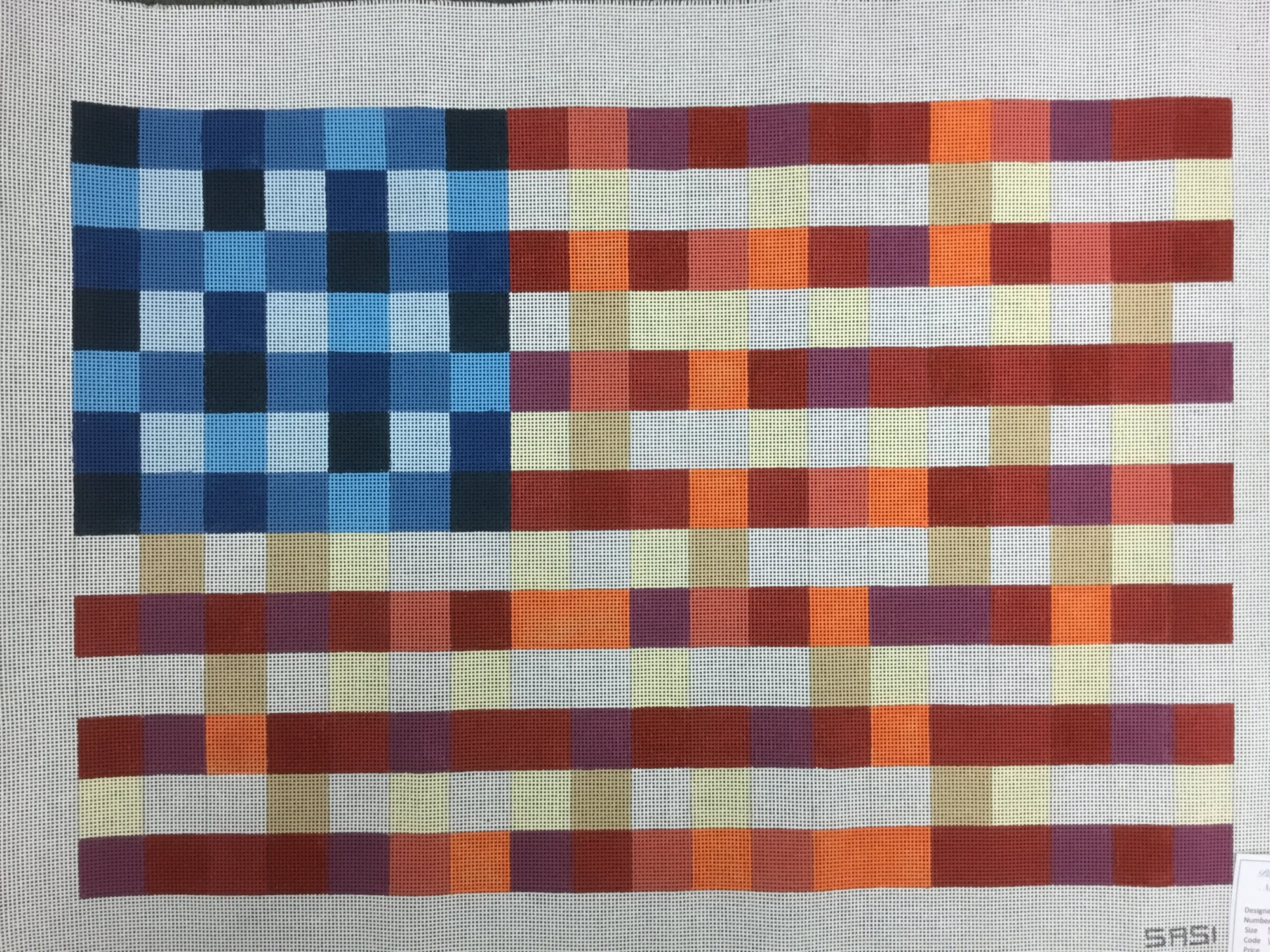 Patchwork of Peace,13 ct.,15 1/2x23