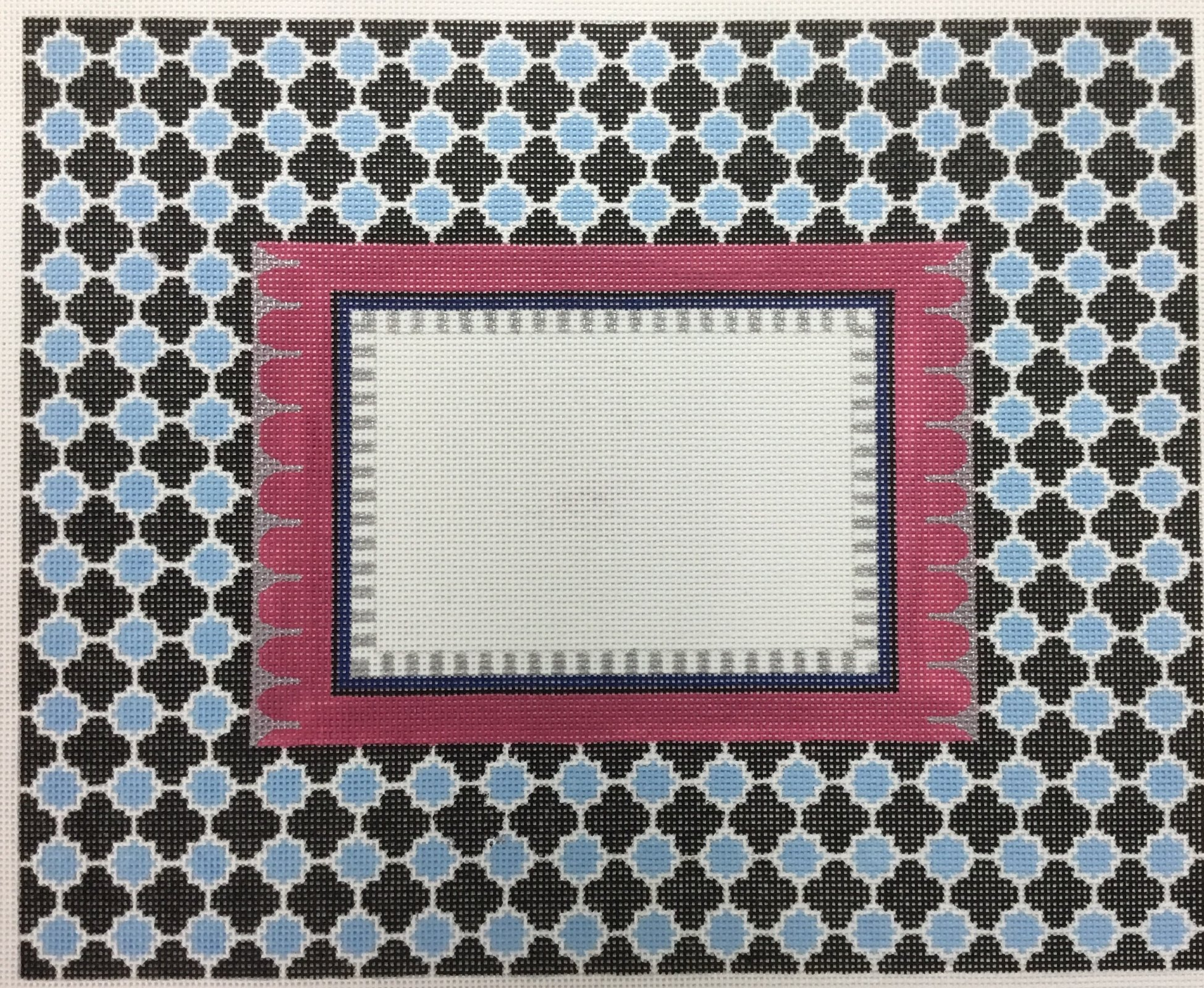 Large Patterned Picture  Frame, 12x14.5, 13M