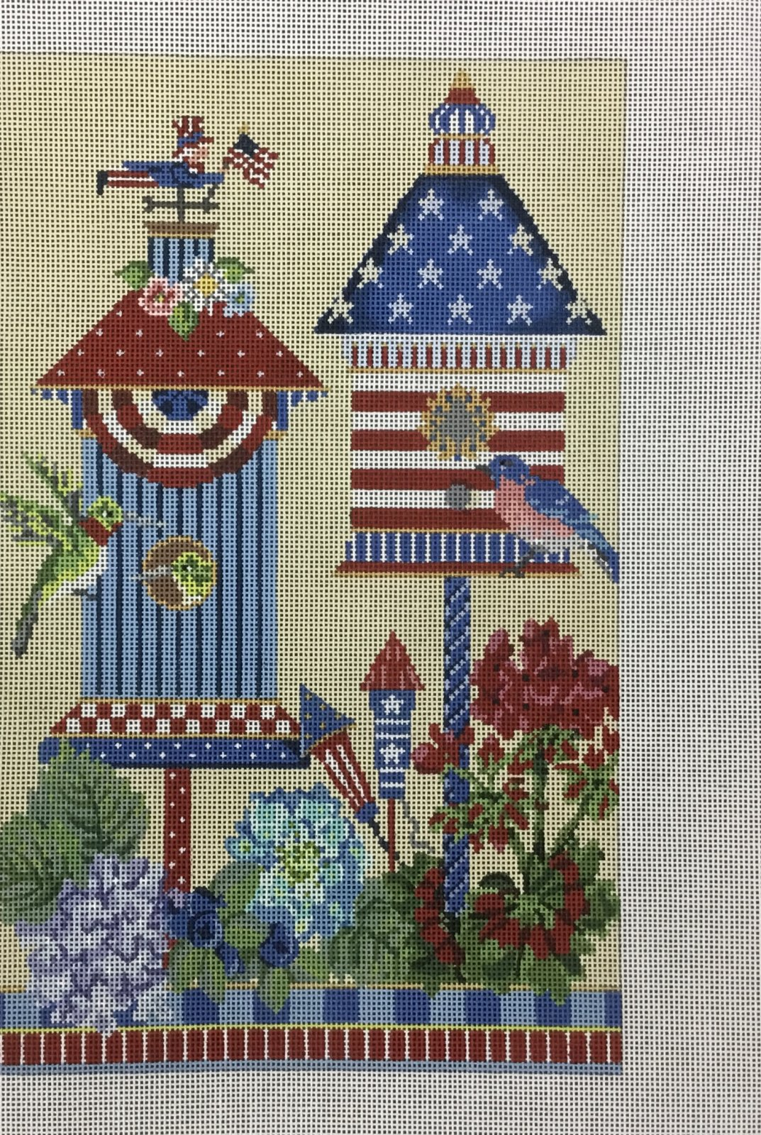 4th of July American House, 18M, 7.25x11.25