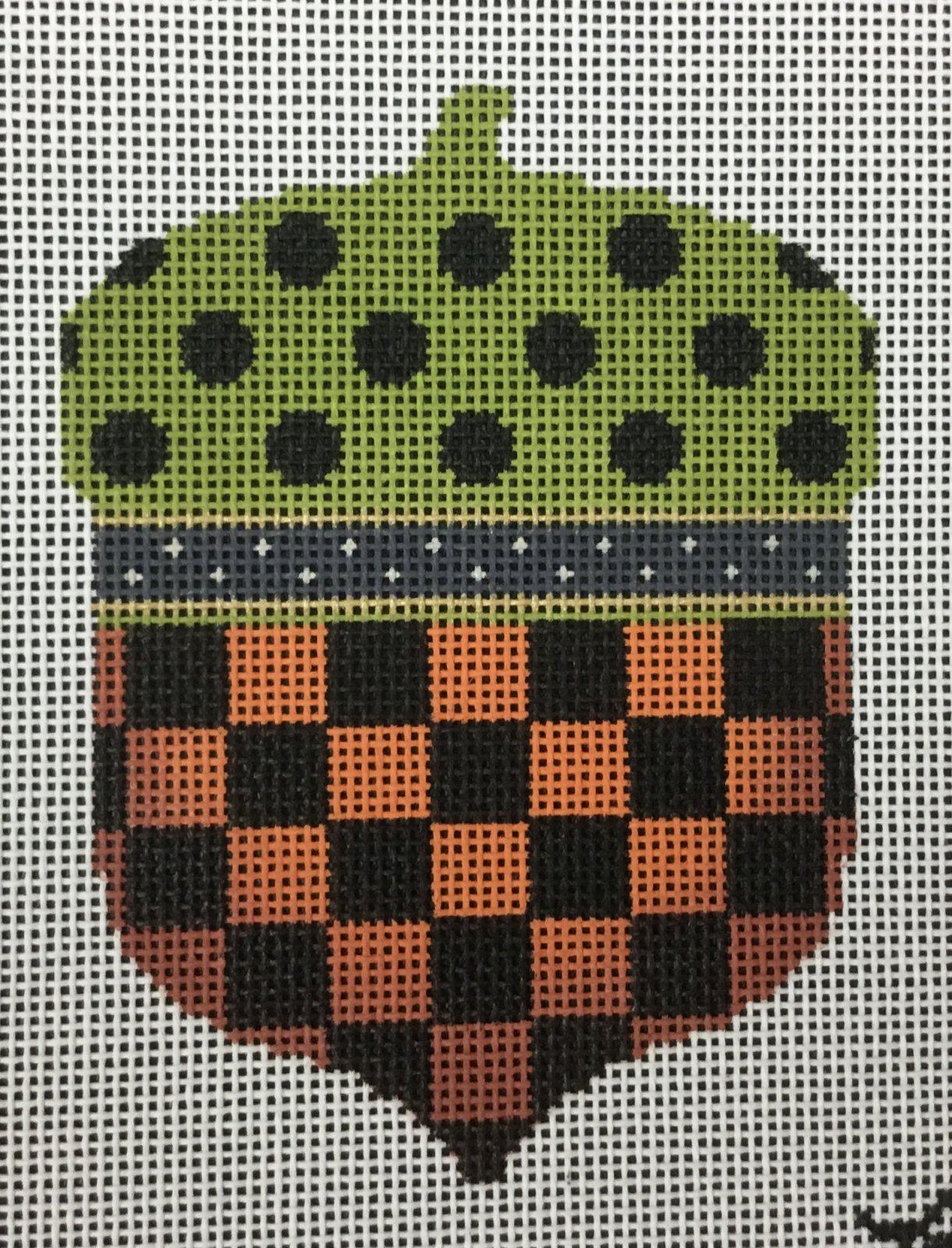 Checkered Acorn, 18M, 3.25x4.5