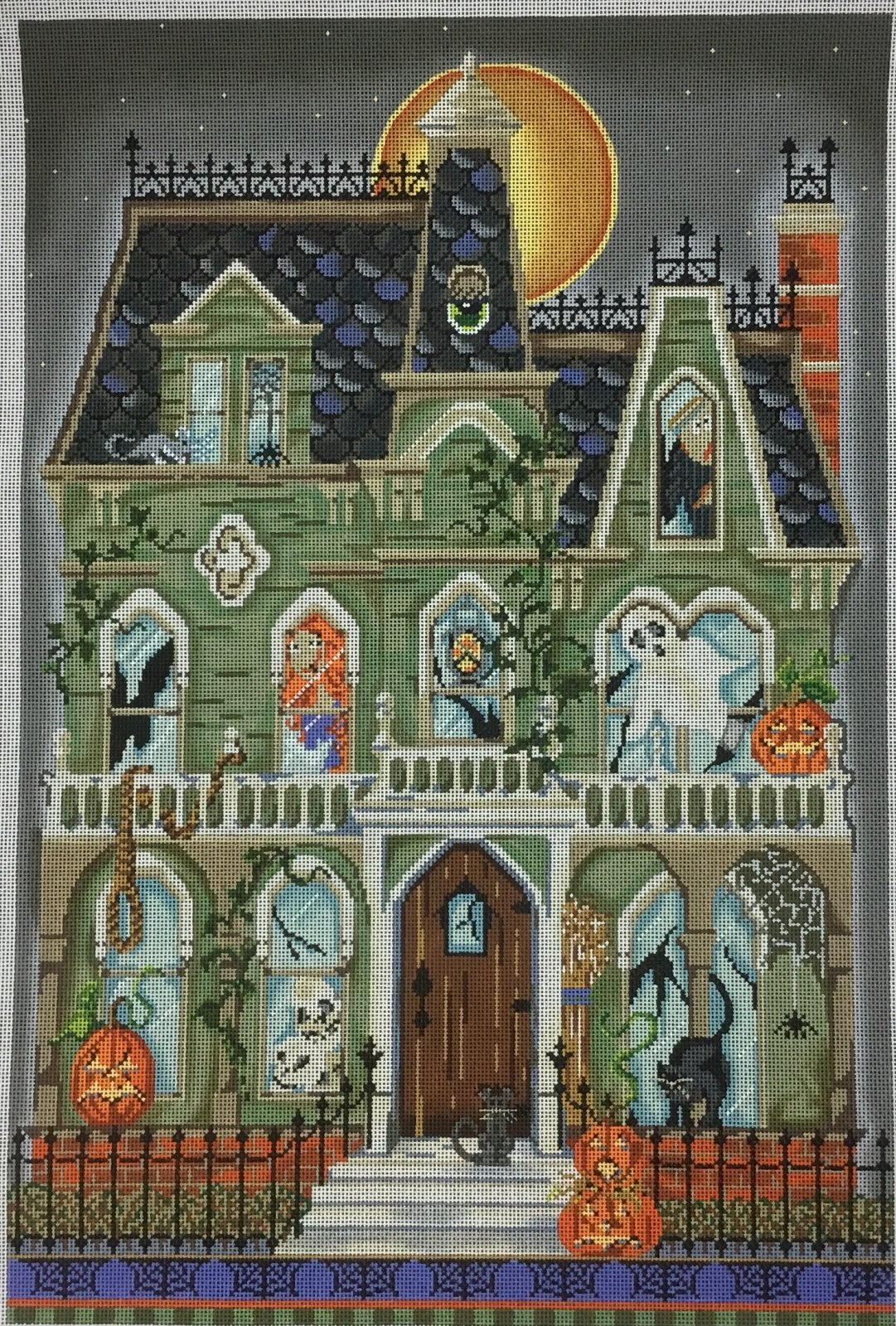 Haunted House,18 ct.,12 3/4x18 3/4