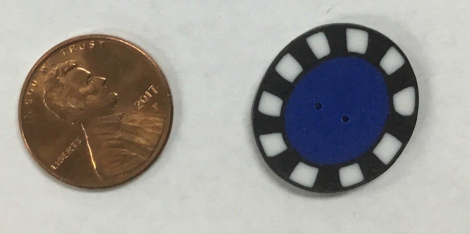 Checks w Blue Button
