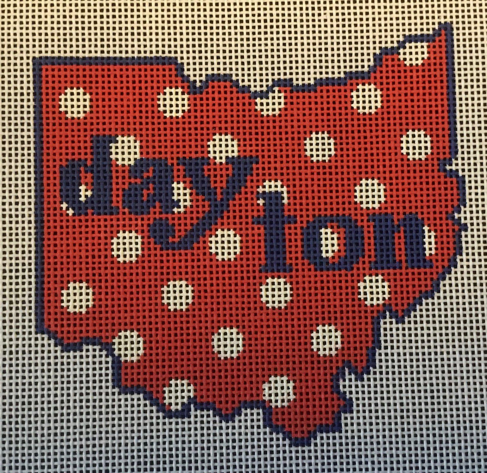 Dayton,State Shape,18 ct, 4x4