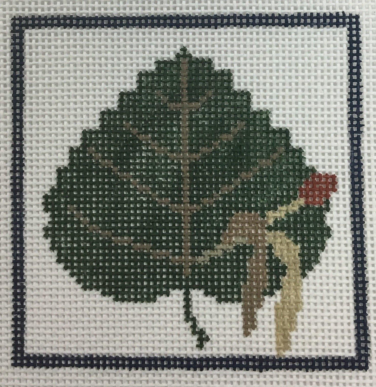 Aspen Leaf, 13 ct., 4 x 4
