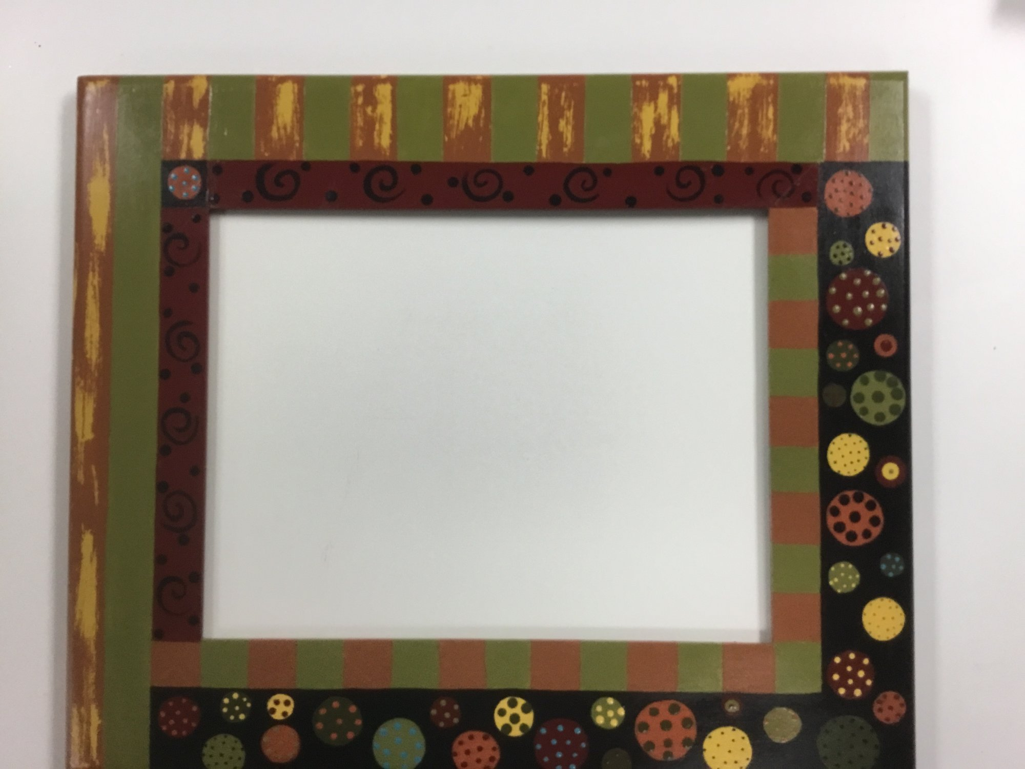 Frame, Hand Painted, 9x12 opening