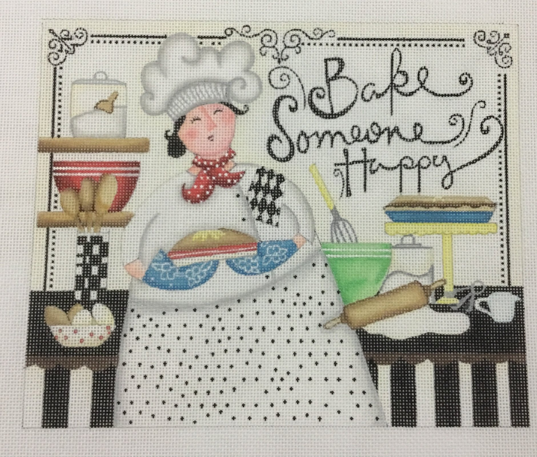 Bake Someone Happy, 9x7.5
