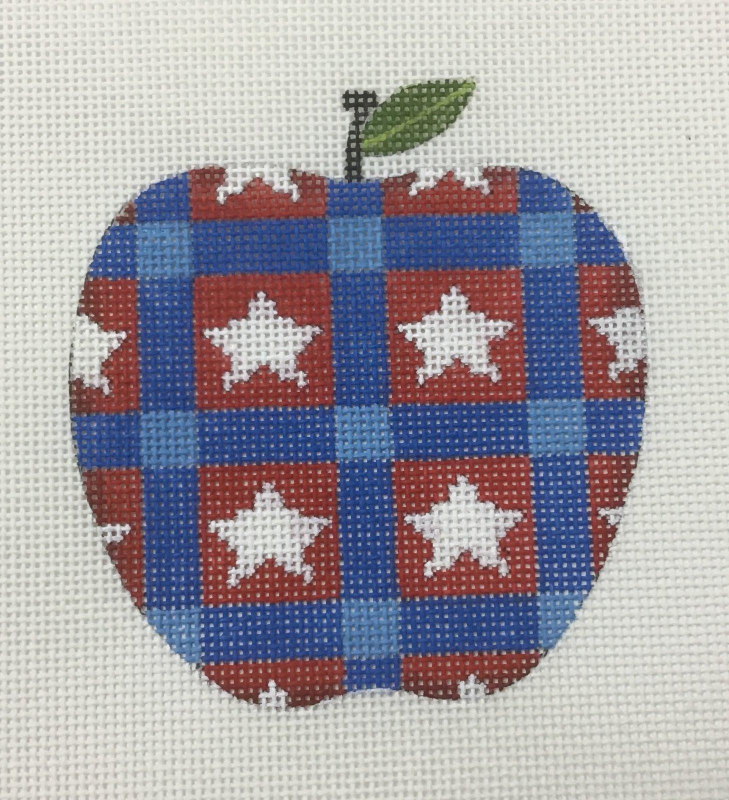 Apple w/ Star Design, 18ct., 3.5 x 3.5