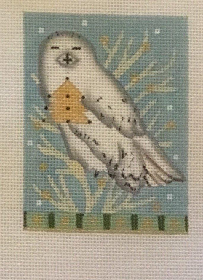 Snowy Owl, 18 ct., 3 x 4