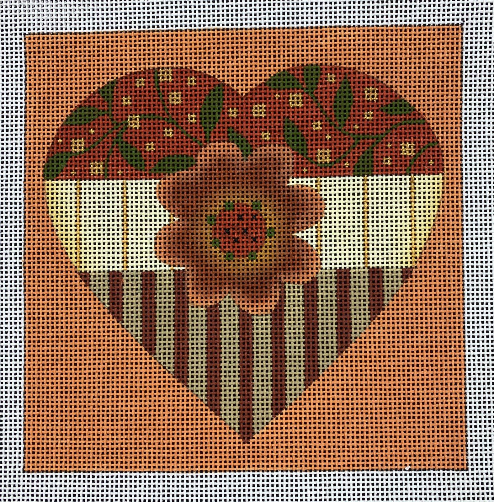 Autumn Heart,13 ct.,7x7