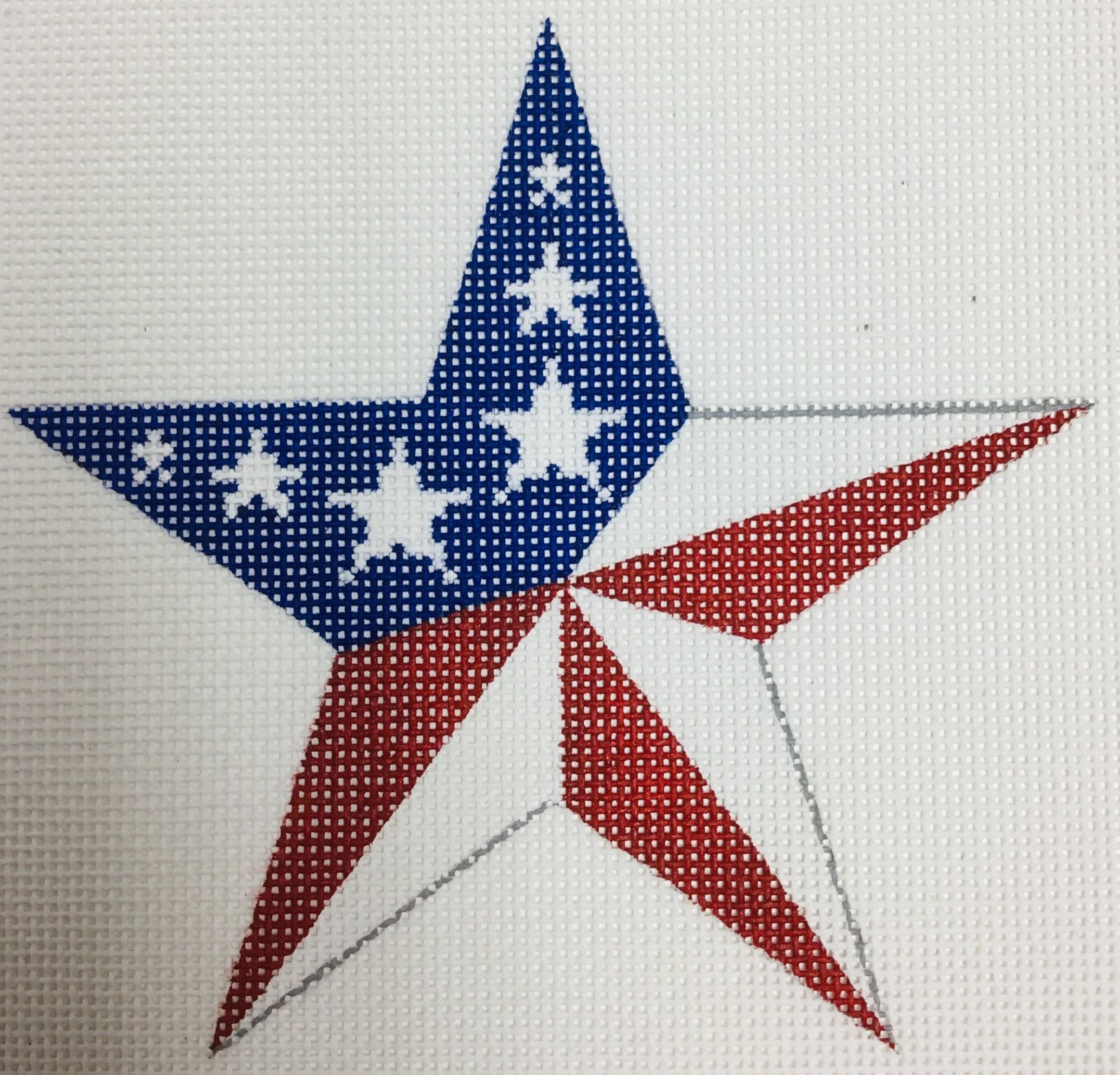 Center Point Star, 18 ct., 5