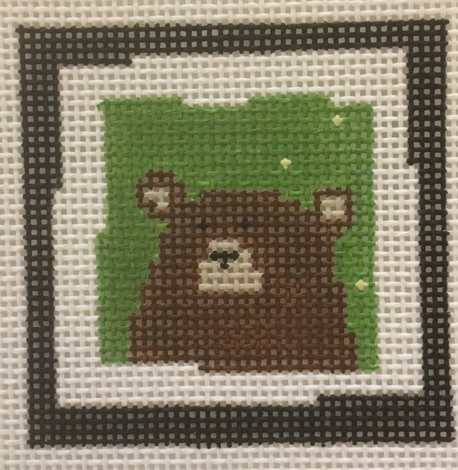 Bear Square,13 ct.,3'x3