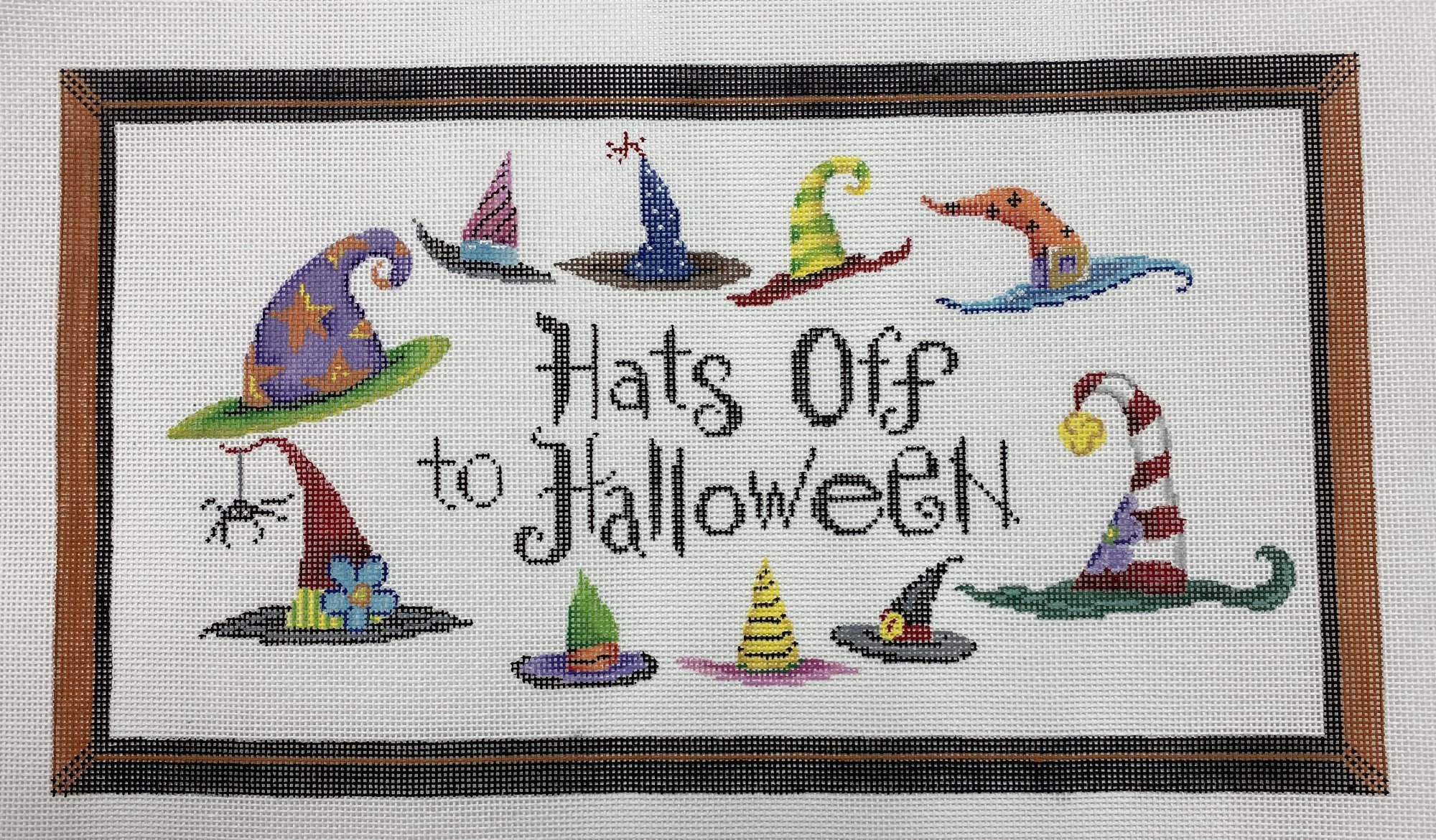 Hats Off to Halloween,18 ct.,13 1/2x17 1/4