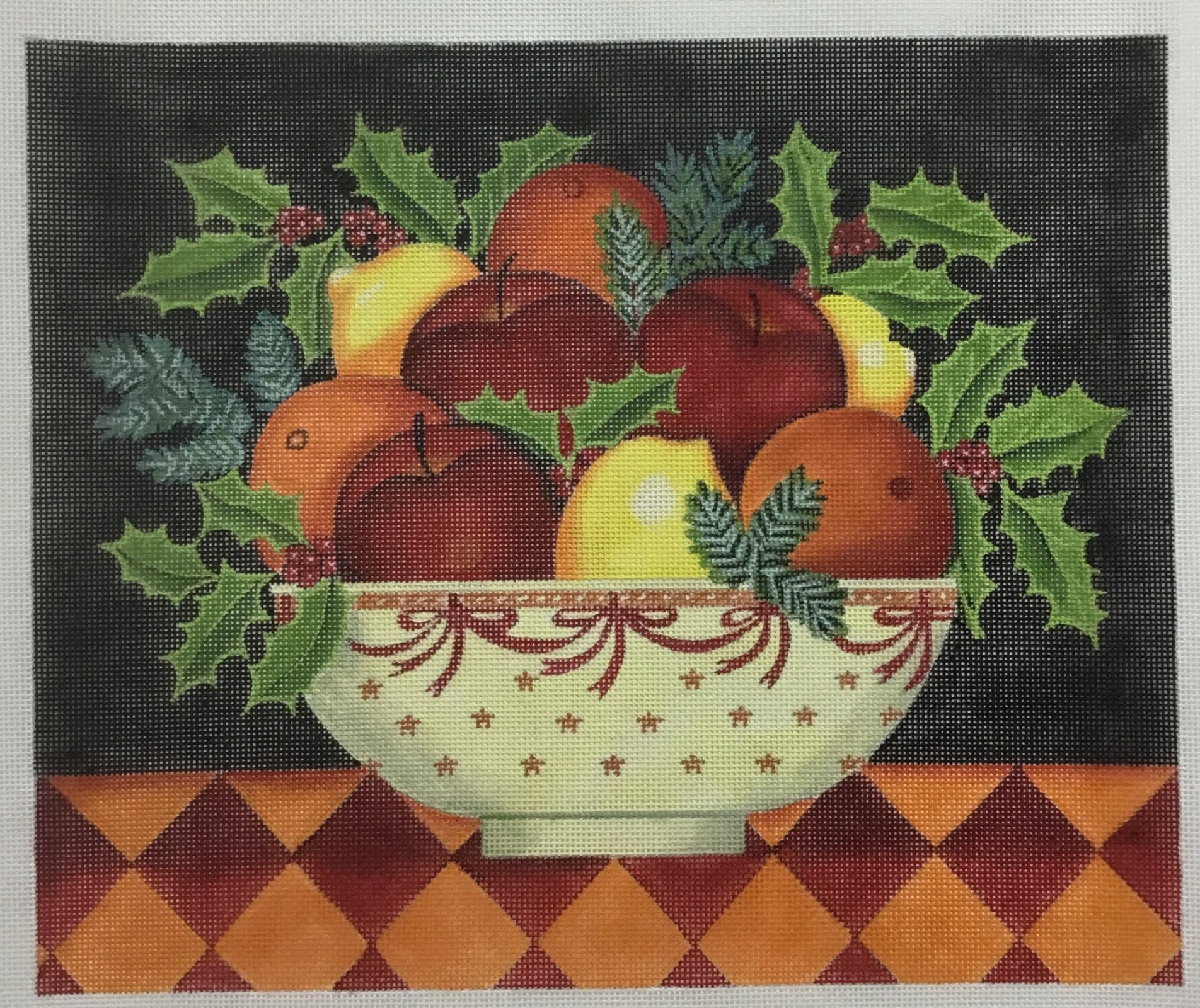 Christmas Fruit Bowl, 18 ct., 12 x 10