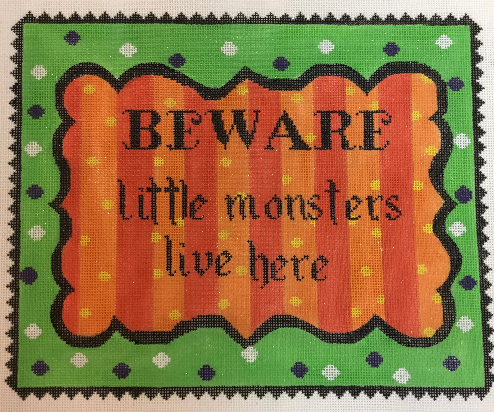 Beware Little Monsters, 18ct., 8.5 x 10.5