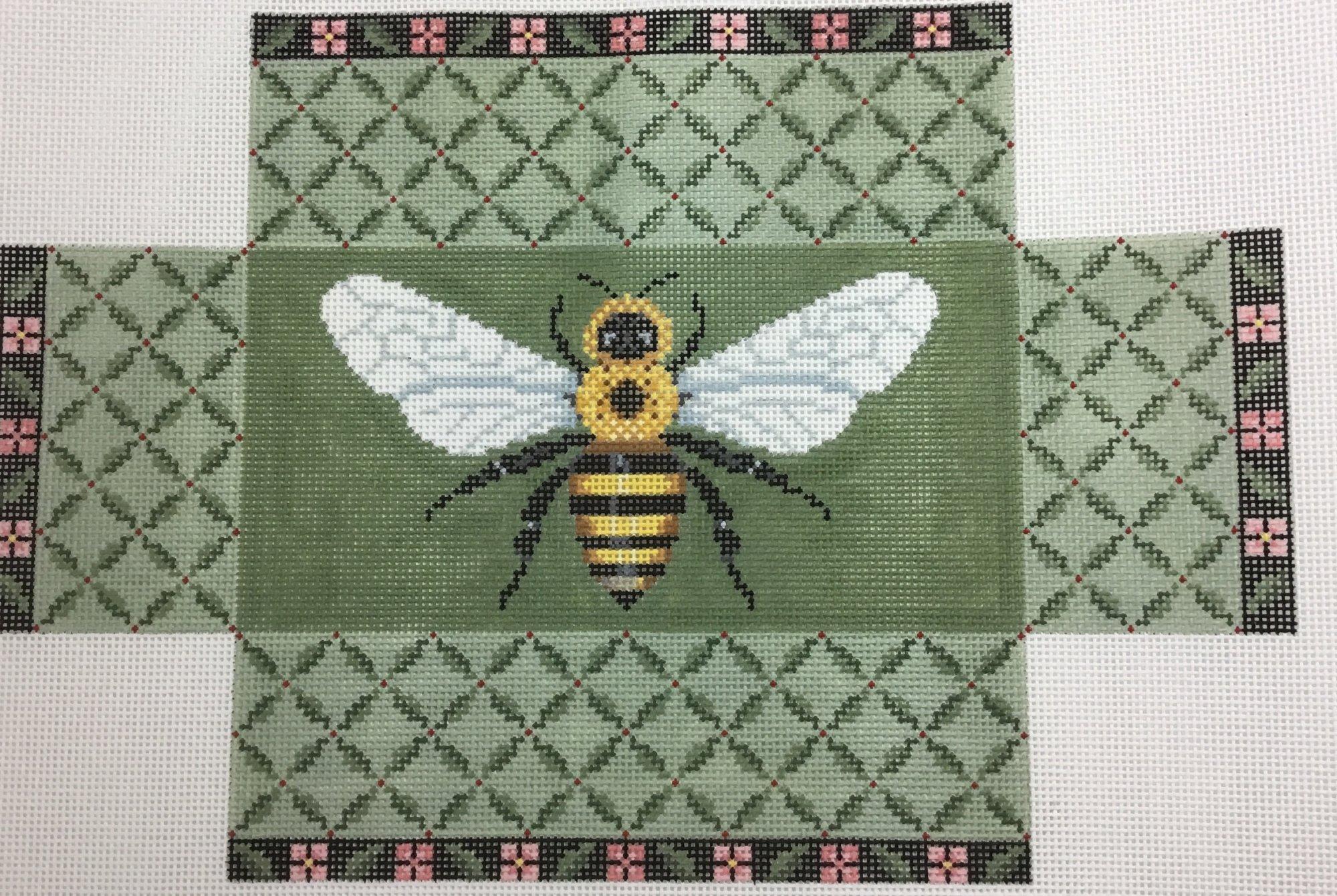 Leaf Trellis Bee,13 ct.,9 1/2x14
