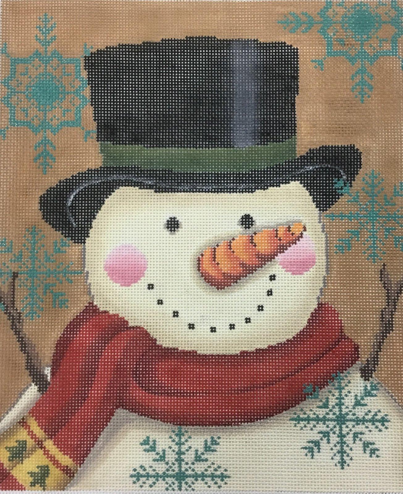 Vintage Snowman,13 ct.10x11 1/2