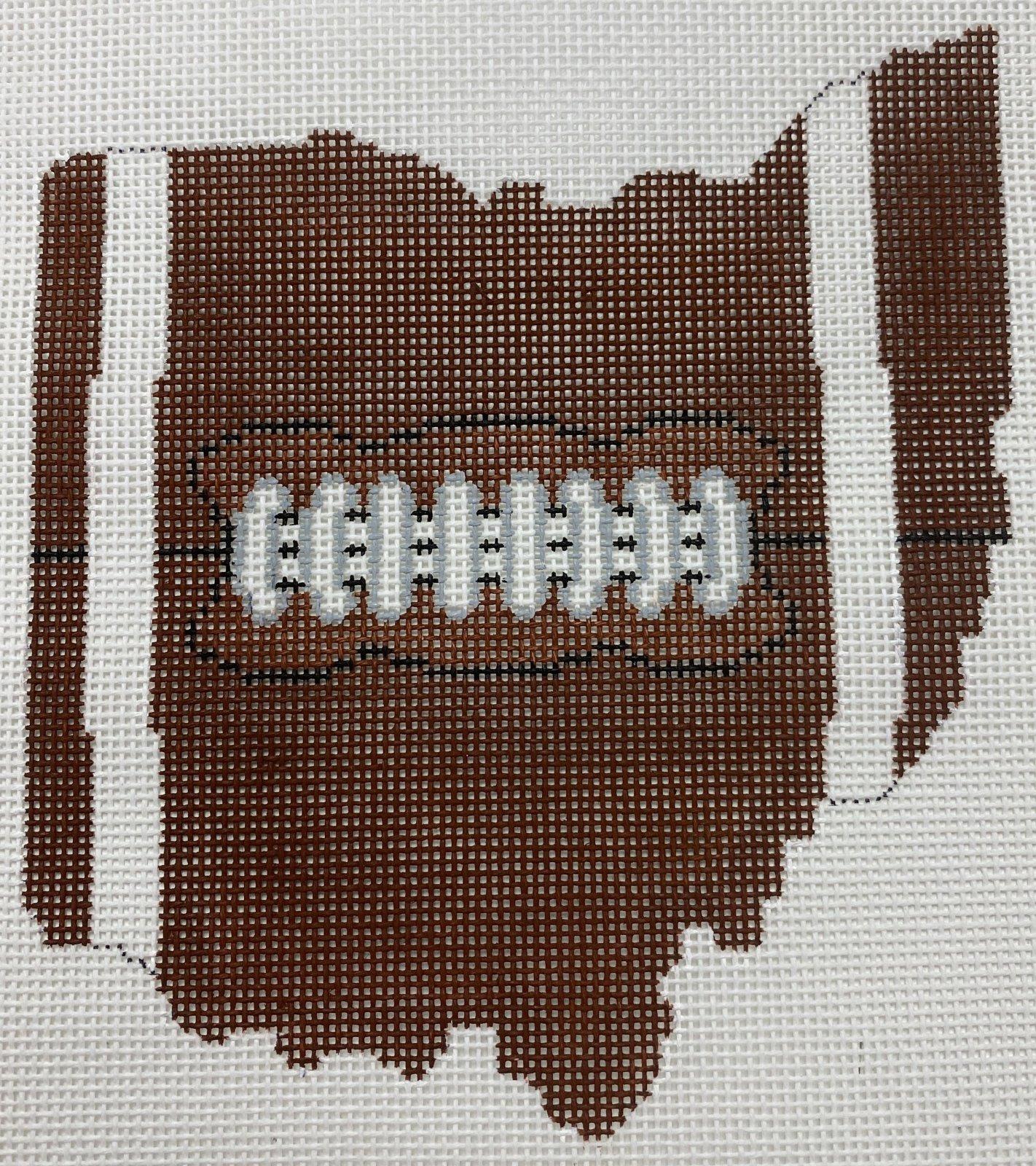 Football State Ohio ,18 ct.,5x5.5