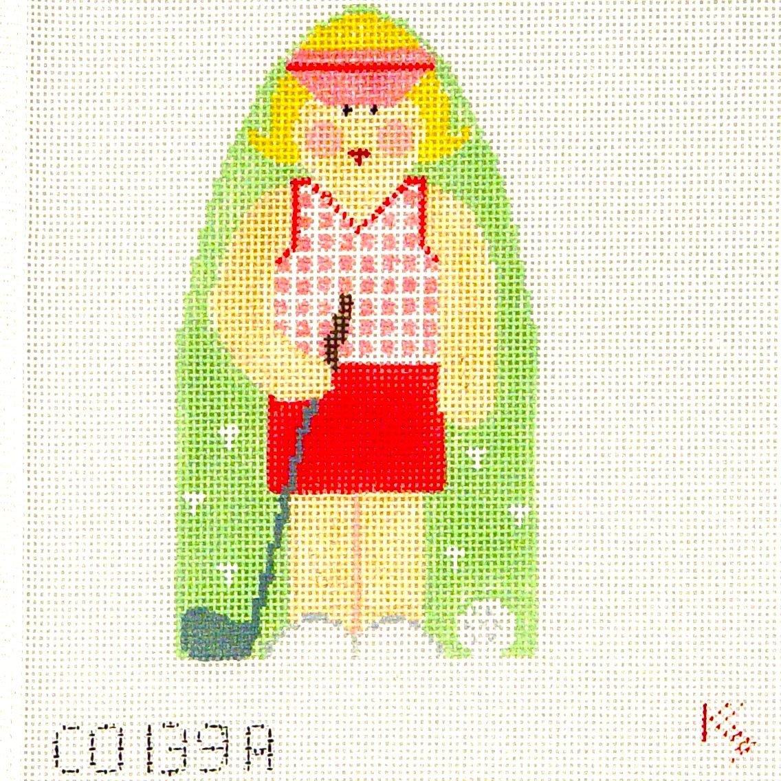 CO139A Female Golfer
