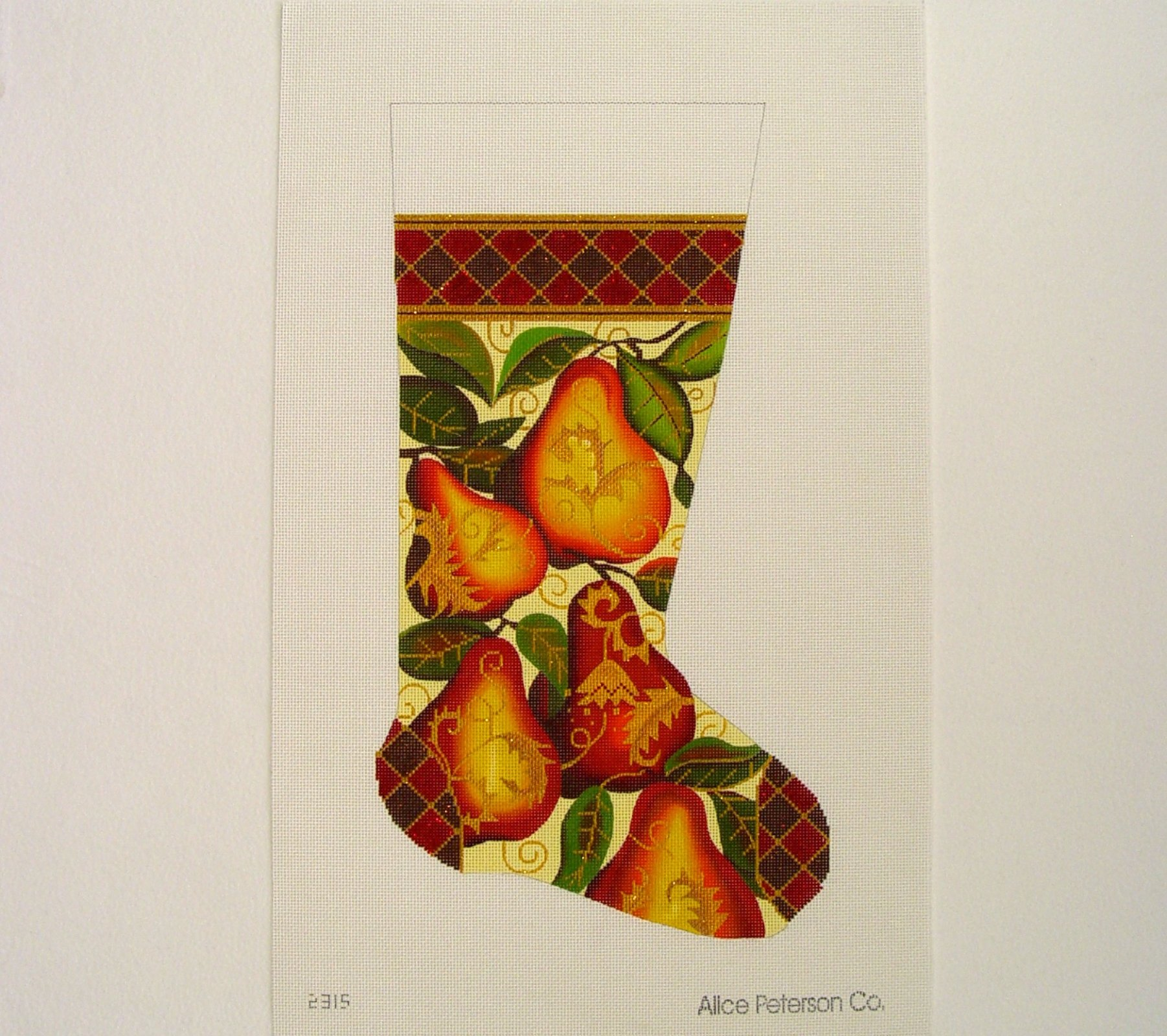 2315 Golden Pear Stocking