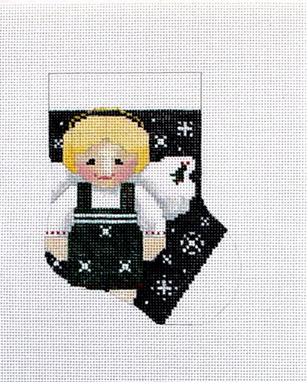 022B Boy Angel Stocking