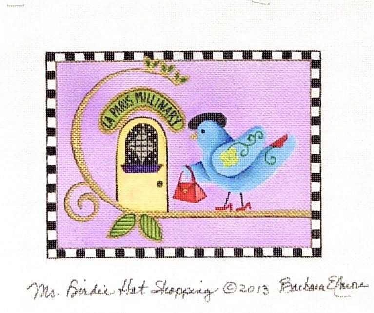 BEJF83 Miss Birdie Hat Shopping
