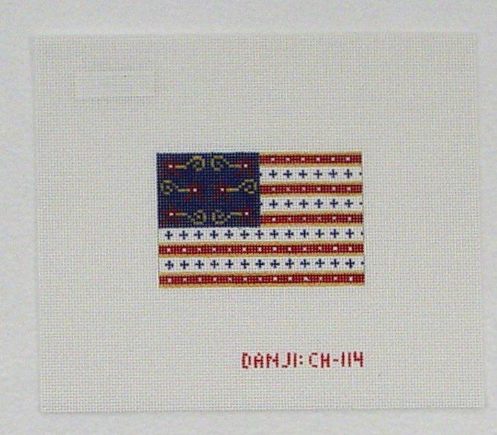 CH114 Patriotic Flag