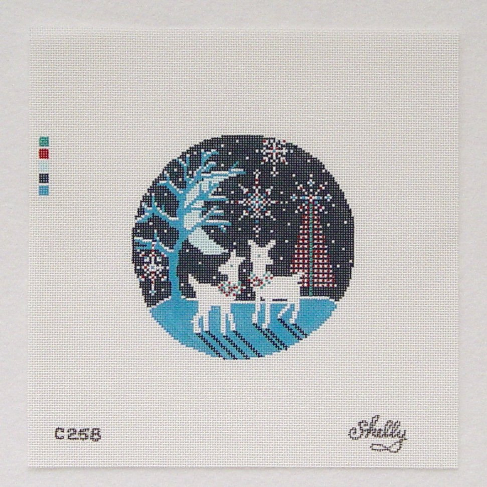 C258 Holiday Meadow Ornament