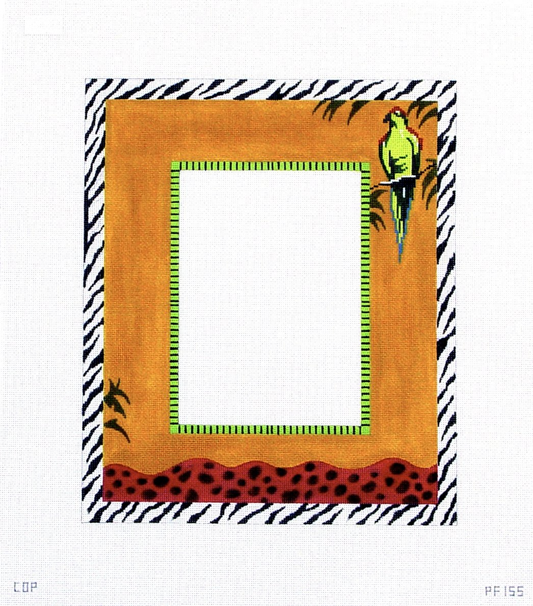 PF155 Parrot Picture Frame