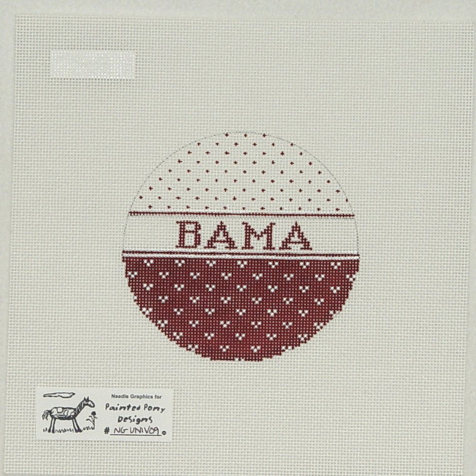 UNIV09 Bama College Ornament
