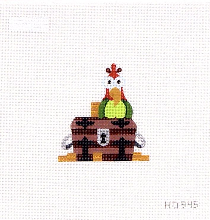 HO945 Tiny Treasure Chest