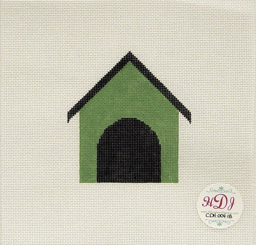CDH004 Dog House, Green