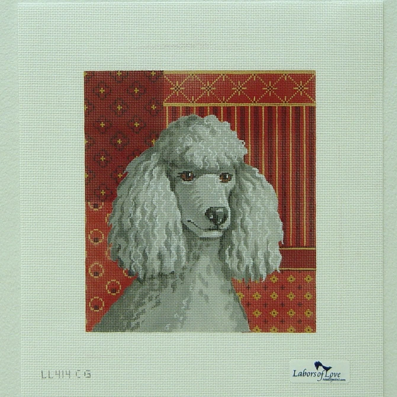 414CG  Gray Poodle