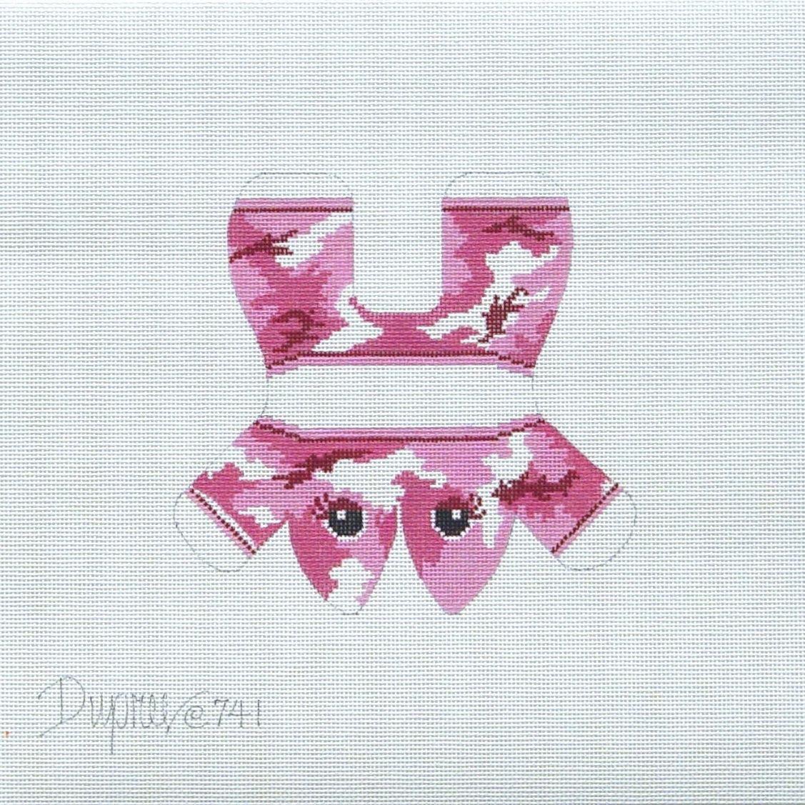 741 Pink Camo Frog