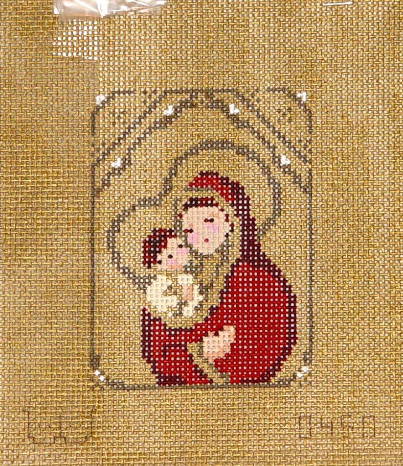 450 Madonna in Burgundy