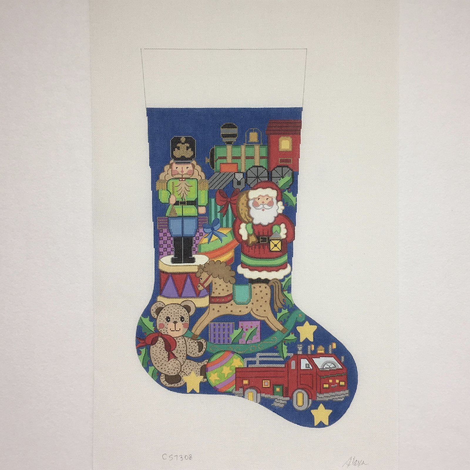 C CS7308 Christmas for Boy Stocking