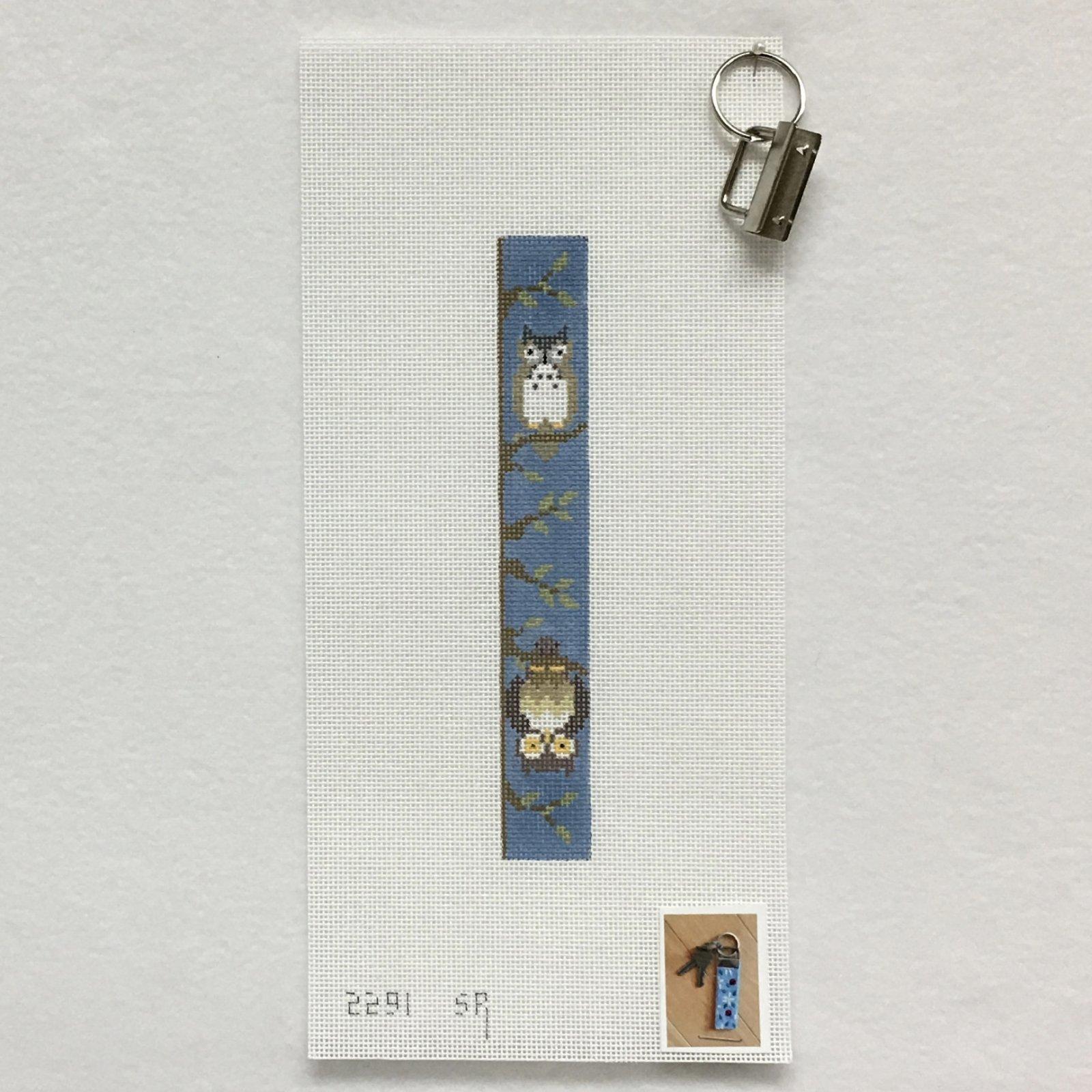 2291 Owls Key Fob