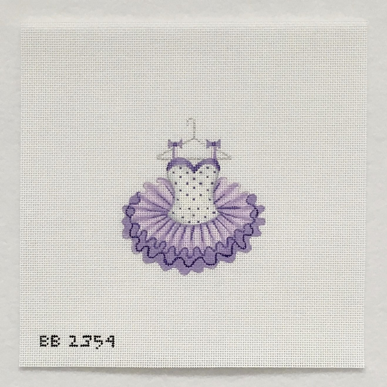2354 Ballet Dress Purple