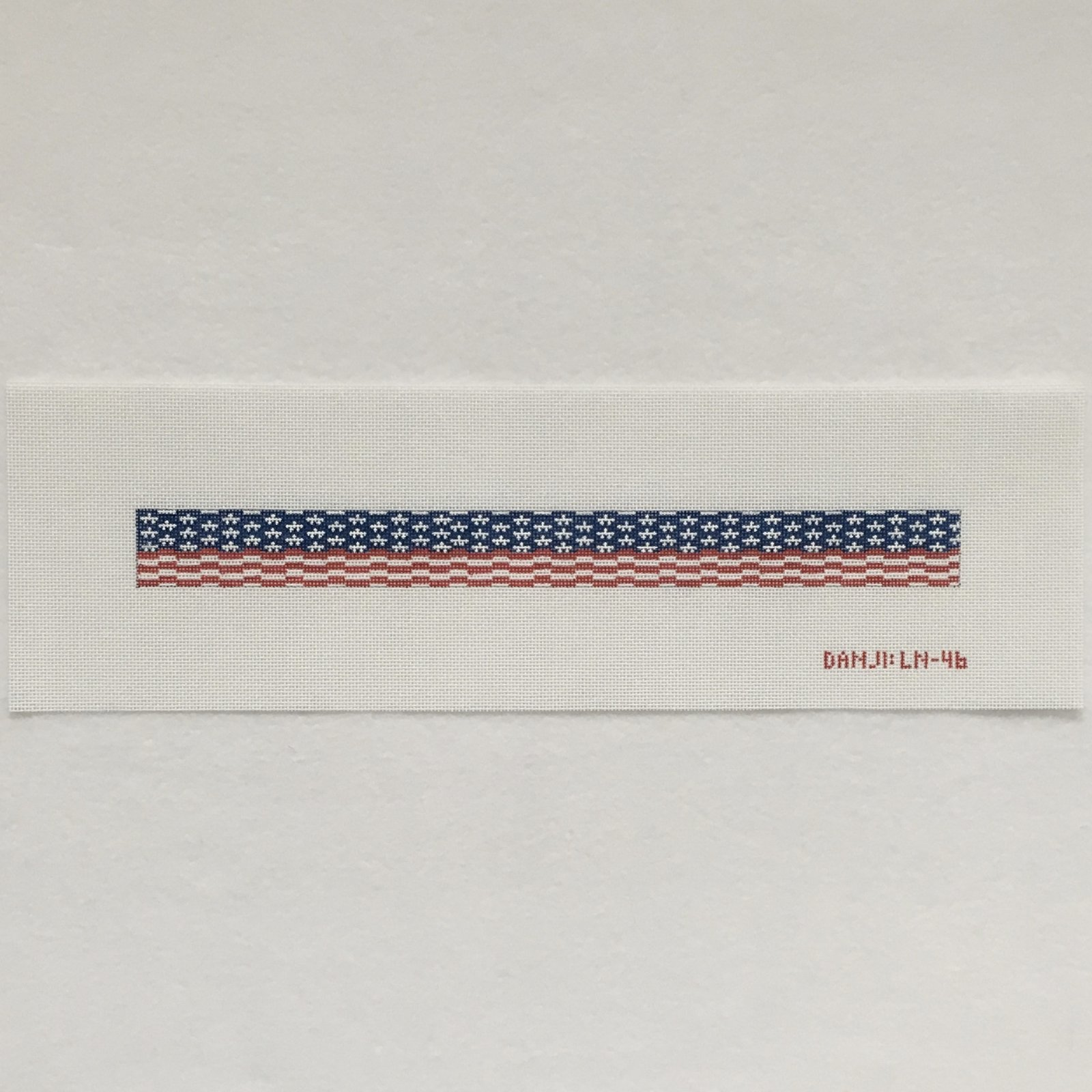 LN46 American Flag Long Key Fob
